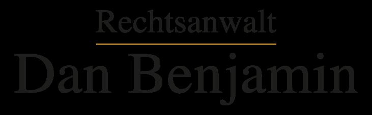 Rechtsanwalt Dan Benjamin